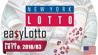 NY LOTTO numbers Oct 17 2018