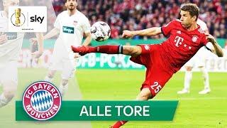Heidenheim-Wahnsinn & Bremen-Drama | ALLE Tore vom FC Bayern | DFB-Pokal 2018/19