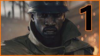 Battlefield 1 Walkthrough Part 1 - ONE OF THE BEST INTRO