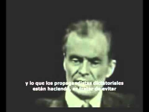 Aldous Huxley - Las dictaduras tecnológicas futuras (1958) subtitulado español