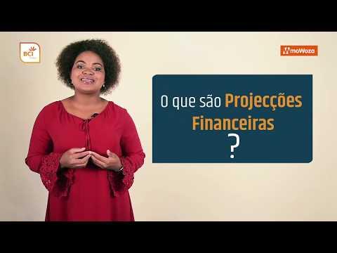 O que são projecções financeiras?