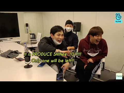 [ENG] SHINee 1st Vlive is a mess