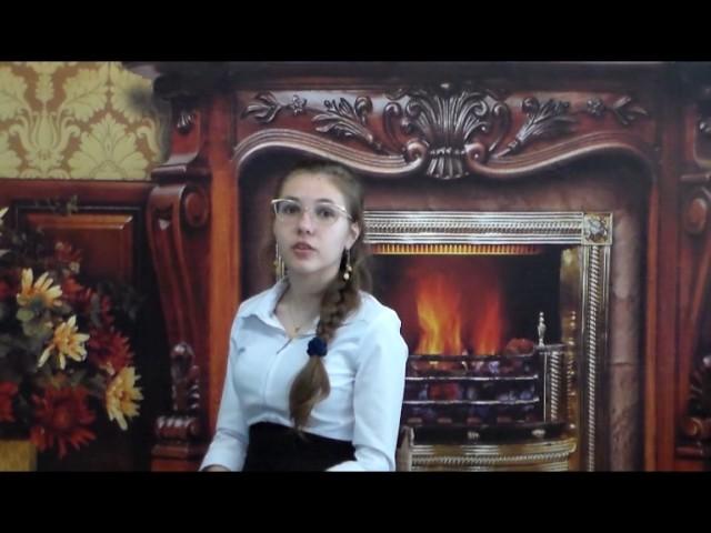 Изображение предпросмотра прочтения – ПолинаЗемлякова читает произведение «Мальчик» К.М.Симонова