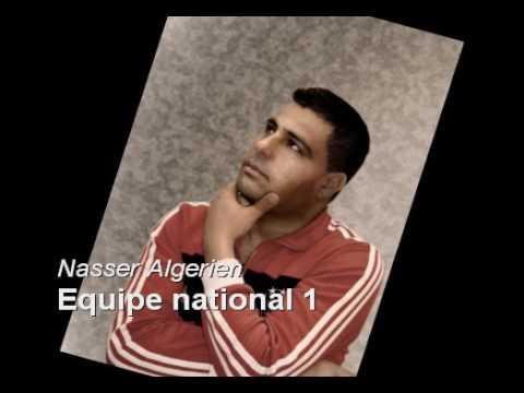 Nasser Algerien - Equipe National 01