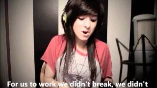 Https://www.christinagrimmiefoundation.org/ this cover never fails to make me teary & emotional. well done christina, i'm so proud of you! \m/ mp3 download l...