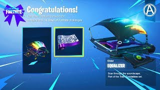 """How To Unlock The FREE """"EQUALIZER"""" GLIDER (Fortnite Battle Royale)"""