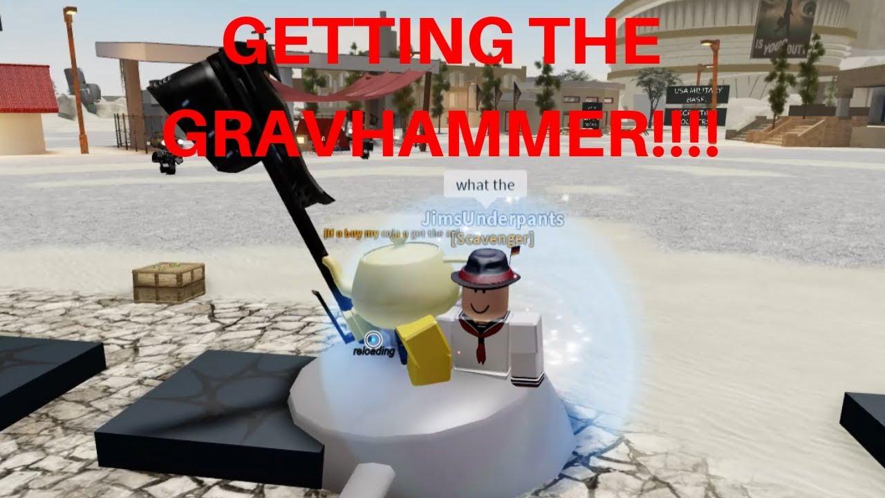 Op Gravity Hammer Glitch In Electric State Darkrp Youtube