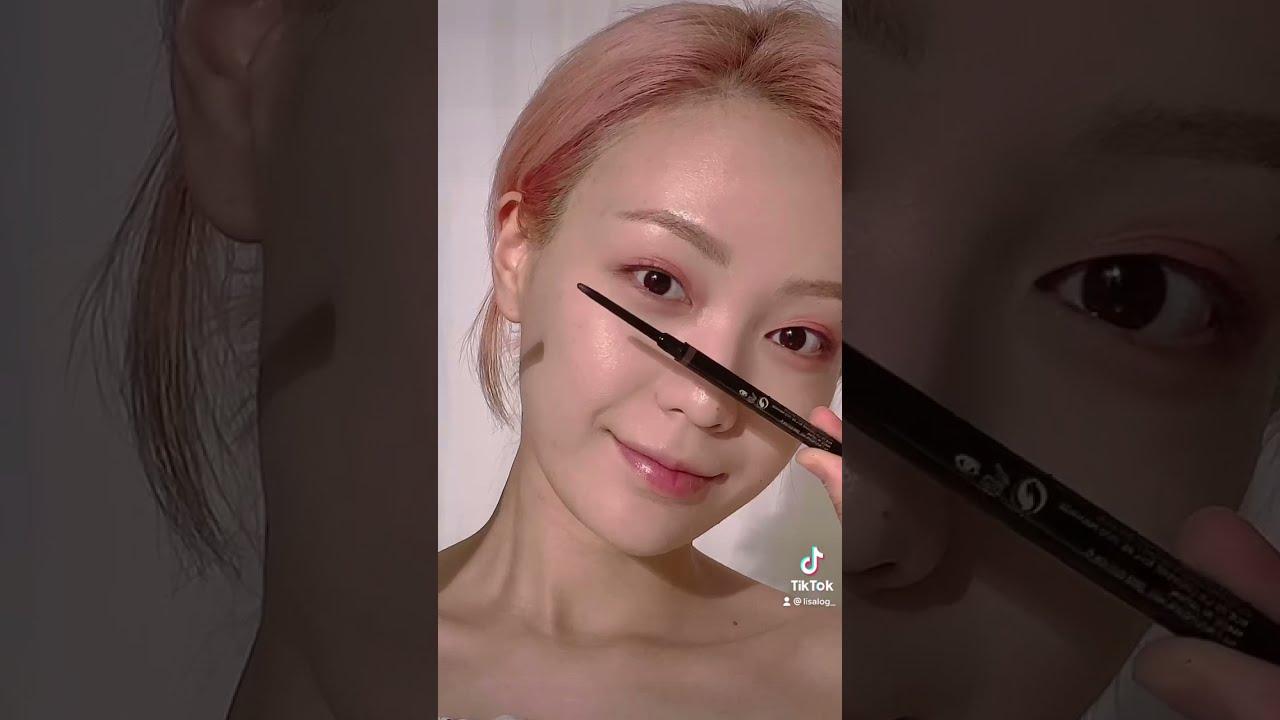 틱톡 필터 메이크업 따라하기 TikTok Makeup Filter Makeup #shorts