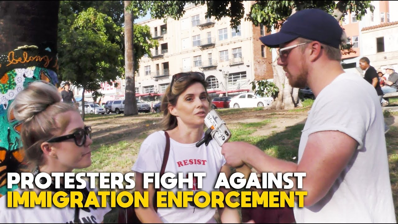 Protesters Fight Against Immigration Enforcement | FLECCAS + SLIGHTLY OFFENS*VE