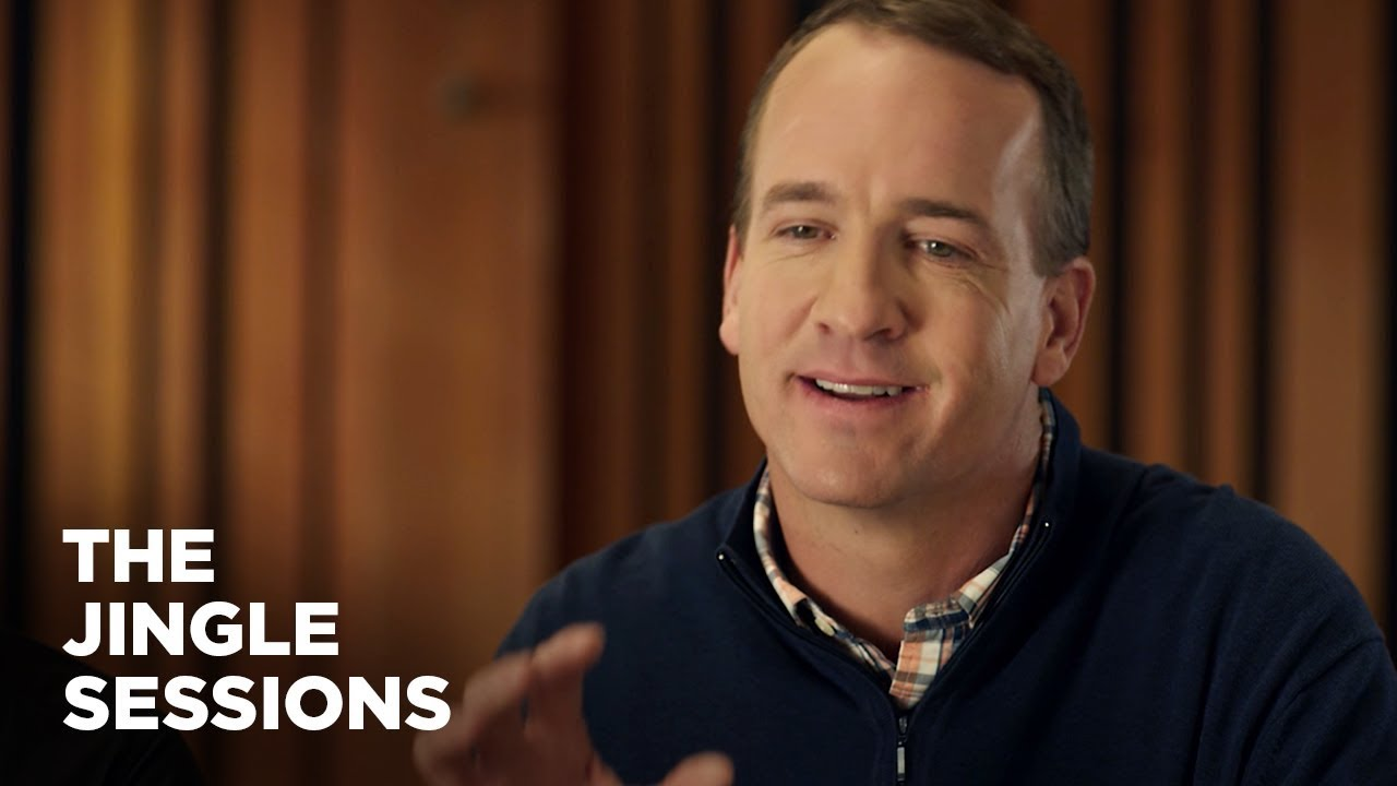 Peyton Manning Cares About The Jingle Commercial Nationwide The Jingle Sessions
