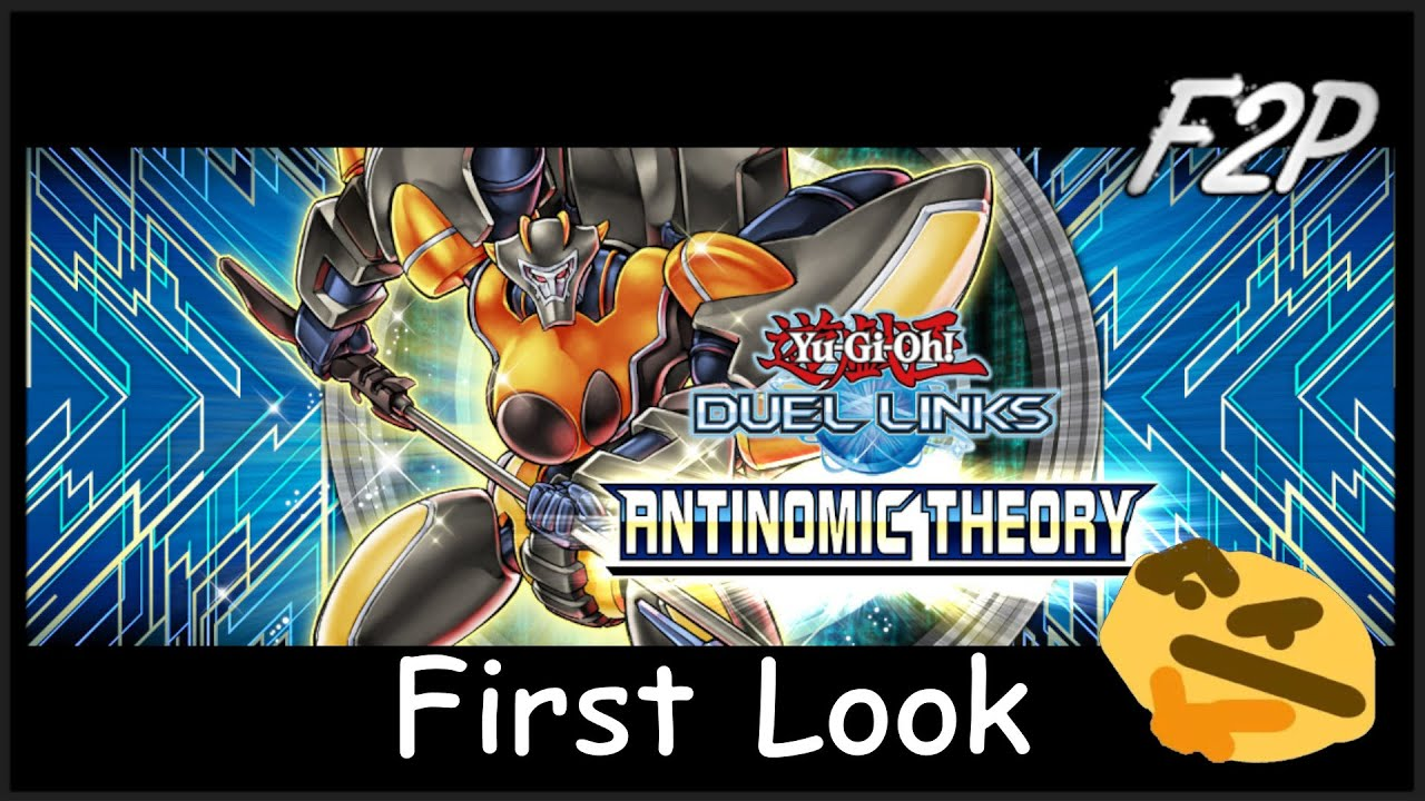 ANTINOMIC THEORY – Quick Review [Yu-Gi-Oh! Duel Links]