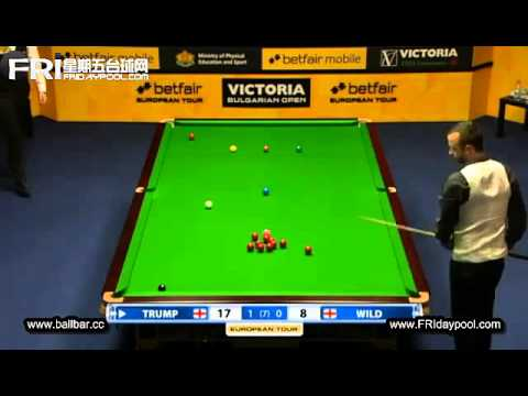 Judd Trump vs Michael Wild ~ 2012- Bulgarian Open (EPTC4)