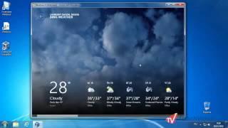 Приложение погоды Weather в Windows 8
