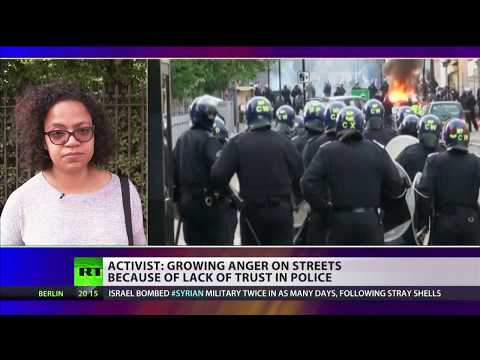 "Activist on East London riot: ""People are going to fight back"""