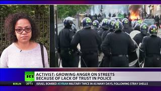 """Activist on East London riot: """"People are going to fight back"""""""