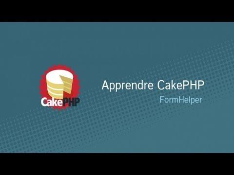 Apprendre CakePHP - FormHelper - YouTube