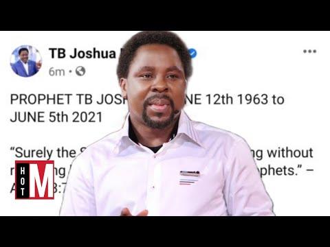 TB Joshua's Death   What Exactly Happened To TB Joshua