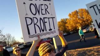 Santa Fe Water Protector, Standing Rock Rally  Nov 15, 2016 Clip 1