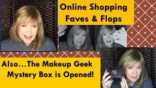 Online FAVES & FLOPS in Nov & MAKEUP GEEK Mystery Box REVEAL