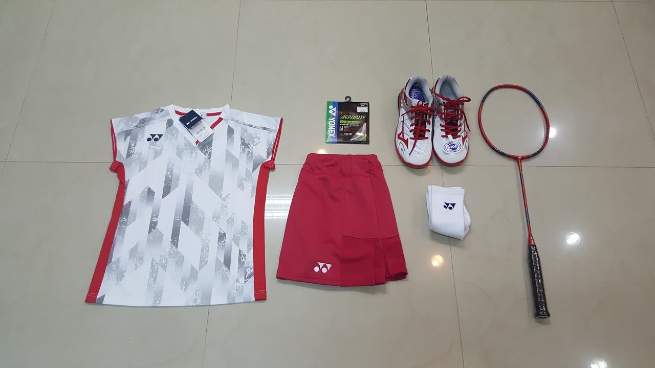 pretty nice 9a7af 279e5 Yonex Badminton Shirt Japan National Team 2018 / Women / White
