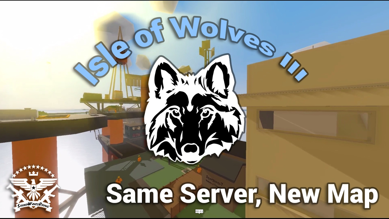 Download Same Server, New Map - Isle of Wolves III [Unturned]