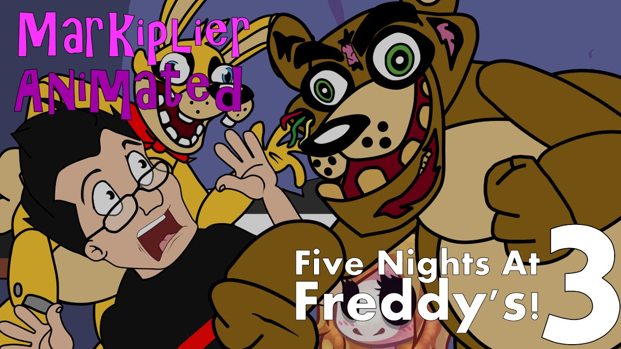 Animated five nights at freddy s 3 fnaf funny moments youtube