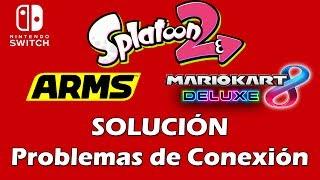 SOLUCIÓN PROBLEMAS DE CONEXIÓN - Nintendo Switch