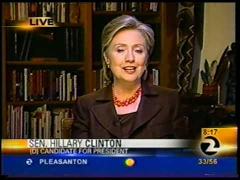 Hilary Clinton Coughs to Avoid Question