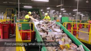 Single Stream Recycling – Tour a Material Recovery Facility (MRF)