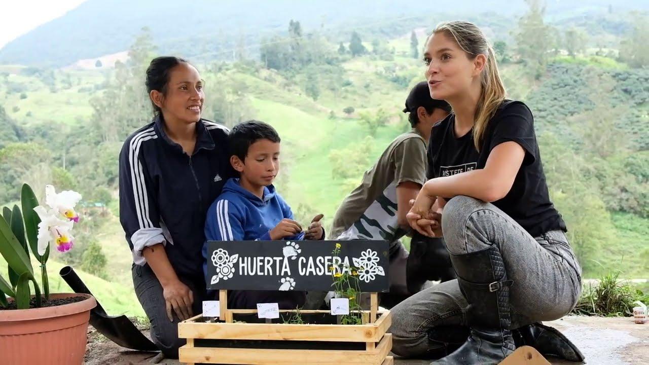 Huerto orgánico con Laura Tobón
