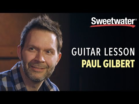 Guitar Lesson with Paul Gilbert