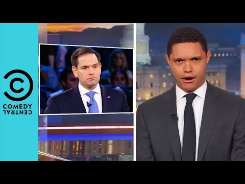 Parkland Survivors Make Marco Rubio Sweat | The Daily Show With Treavor Noah