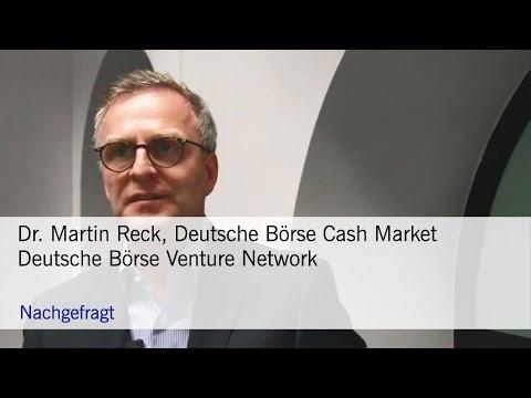 Nachgefragt: Deutsche Börse Venture Network
