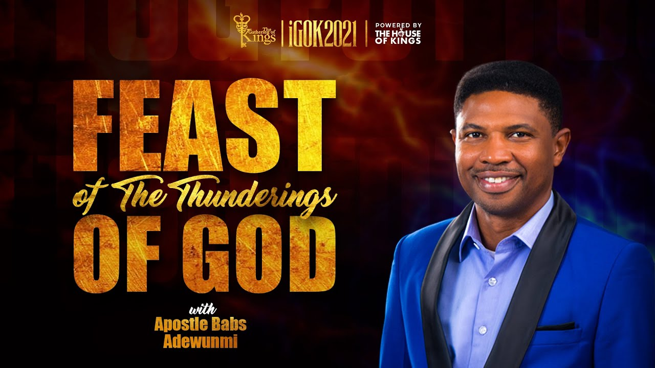 Download IGOK 2021: FOTTOG Day 4 Evening Session with Apostle Babs Adewunmi  (Pt. 1)    25 September 2021
