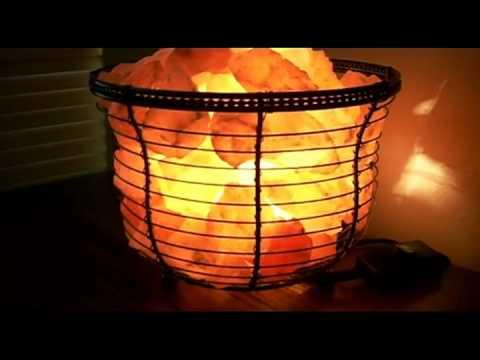 himalayan salt rock lamp review - YouTube