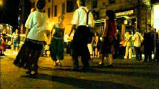 "Saltarello di Monghidoro,music by TRIOGRANDE, ""spicco"" dances of Emilia-Italy 13/15"