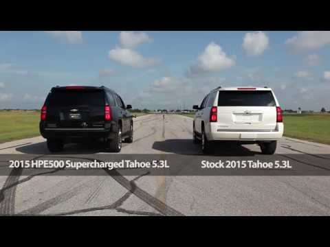 2015 HPE500 Supercharged Tahoe Drag Race Dyno Test