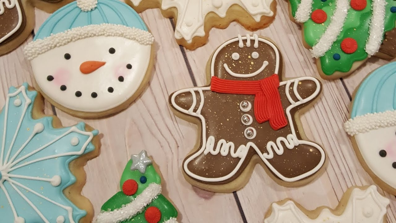 Gingerbread Men Sugar Cookies On Kookievision By Sweethart Baking Experiment