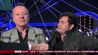 Jim Kerr Charlie Burchill Interview BBC SPOTY 2014