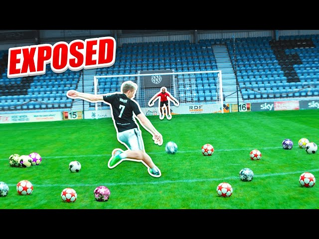 THIS GOALKEEPER EXPOSED ME...
