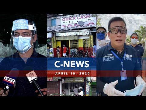 UNTV: C-News   APRIL 10, 2020