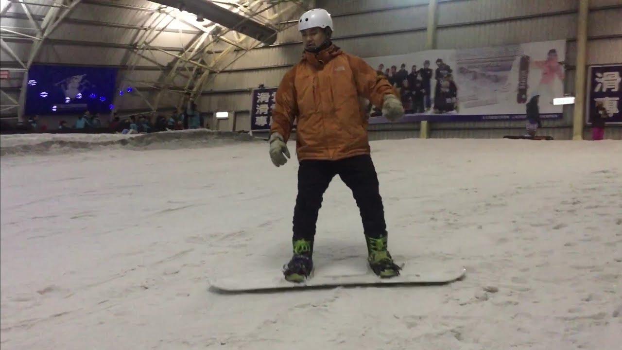 小叮噹北海道滑雪場 雪板基礎課程 - YouTube