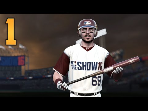 "MLB The Show 16 - Road to the Show - Part 1 ""I'M IN THE GAME!"" (Gameplay & Commentary)"