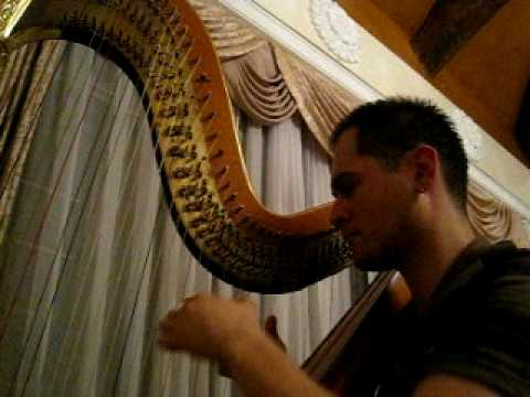 Eurovision Song Contest winning songs 2000-2009 on the harp