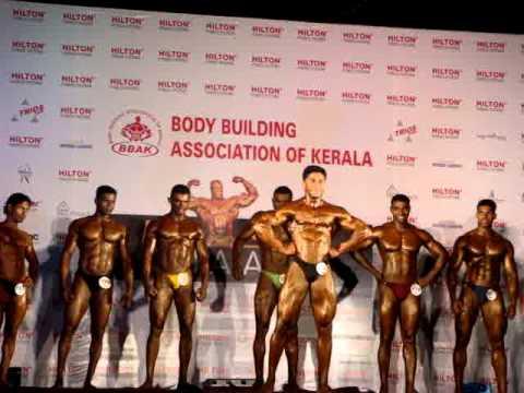 ARUNRAJ Mr India Best Posser