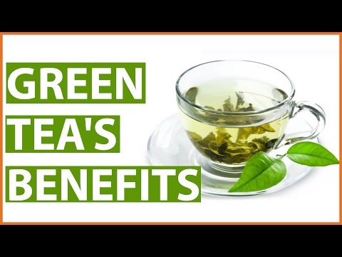 10 Amazing GREEN TEA HEALTH BENEFITS