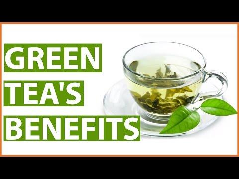 10 Amazing HEALTH BENEFITS of GREEN TEA
