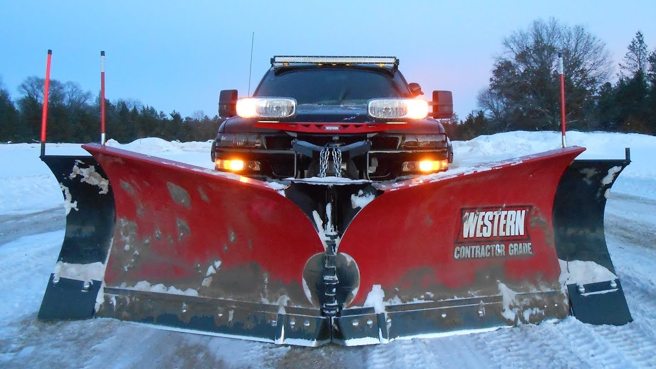 Darth Dually Snow Plowing Western MVP3 with Wings 11 ...