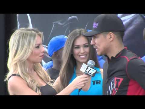 Bradley vs. Vargas: Jessie Vargas Anticipates a Brawl - Weigh-ins Interview