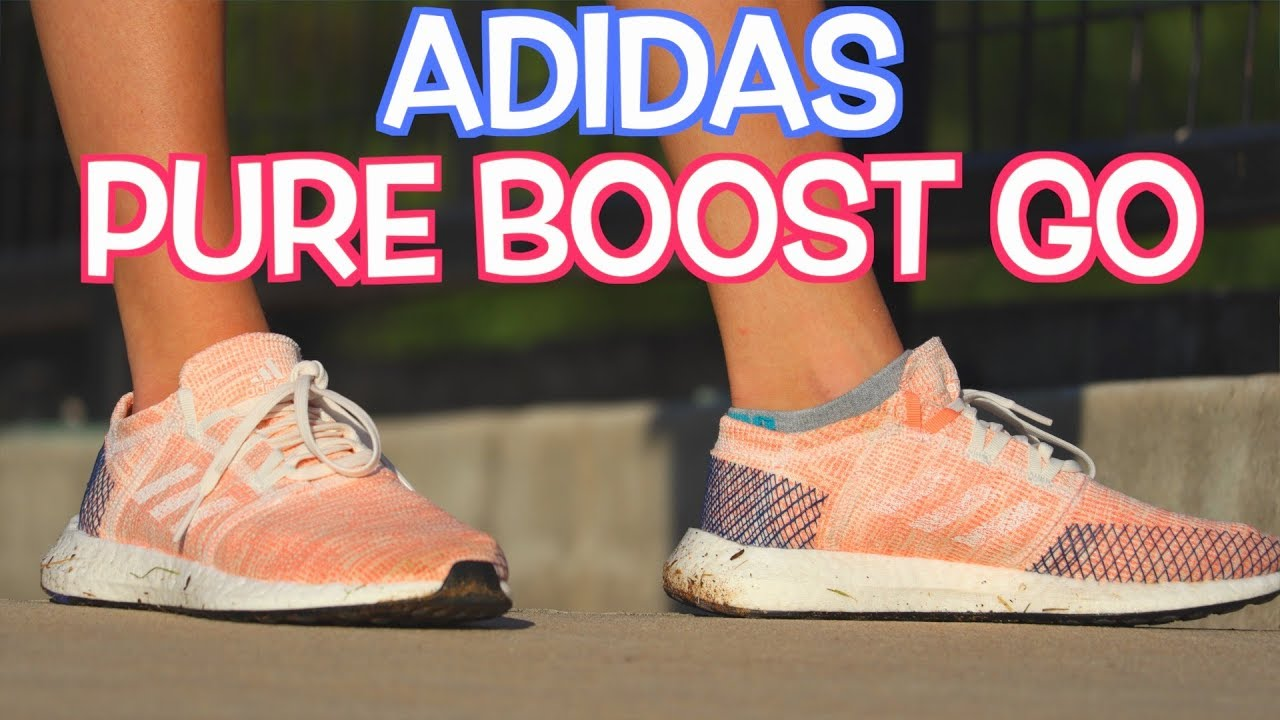 81105b5a44c208 Adidas PureBOOST GO REVIEW (RUNNING PERFORMANCE) - YouTube